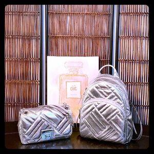 Michael Kors Backpack Handbag Set(2-piece set)NEW